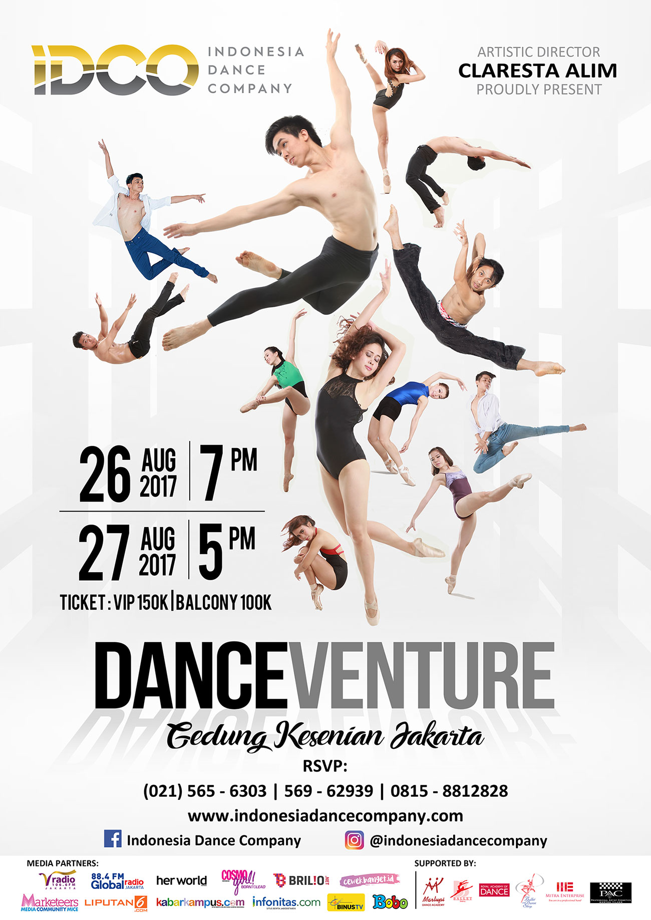 Indonesia Dance Company - IDCO - Danceventure