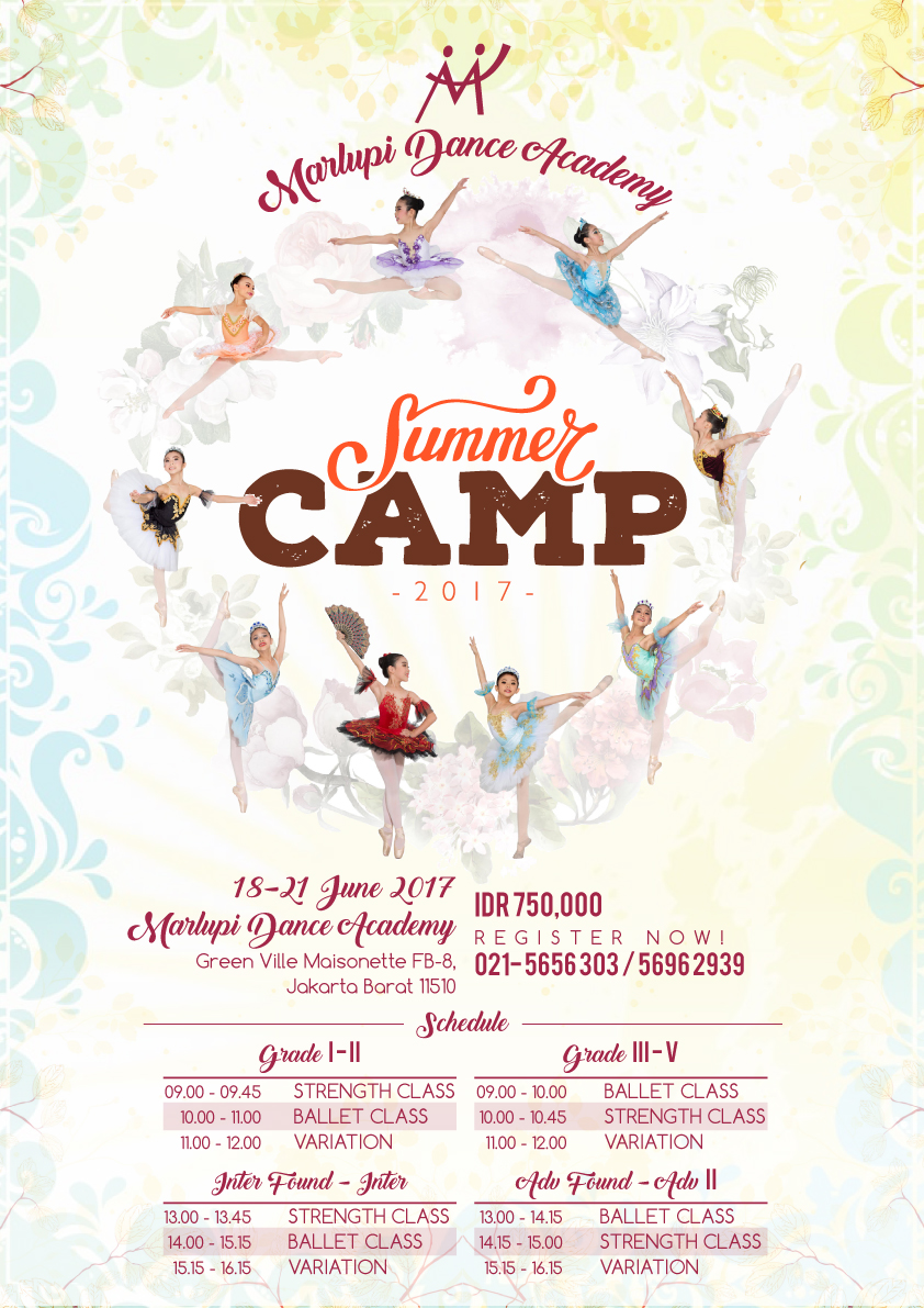 MDA Summer Dance Camp 2017
