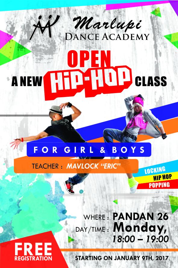 New Open Hip Hop Class
