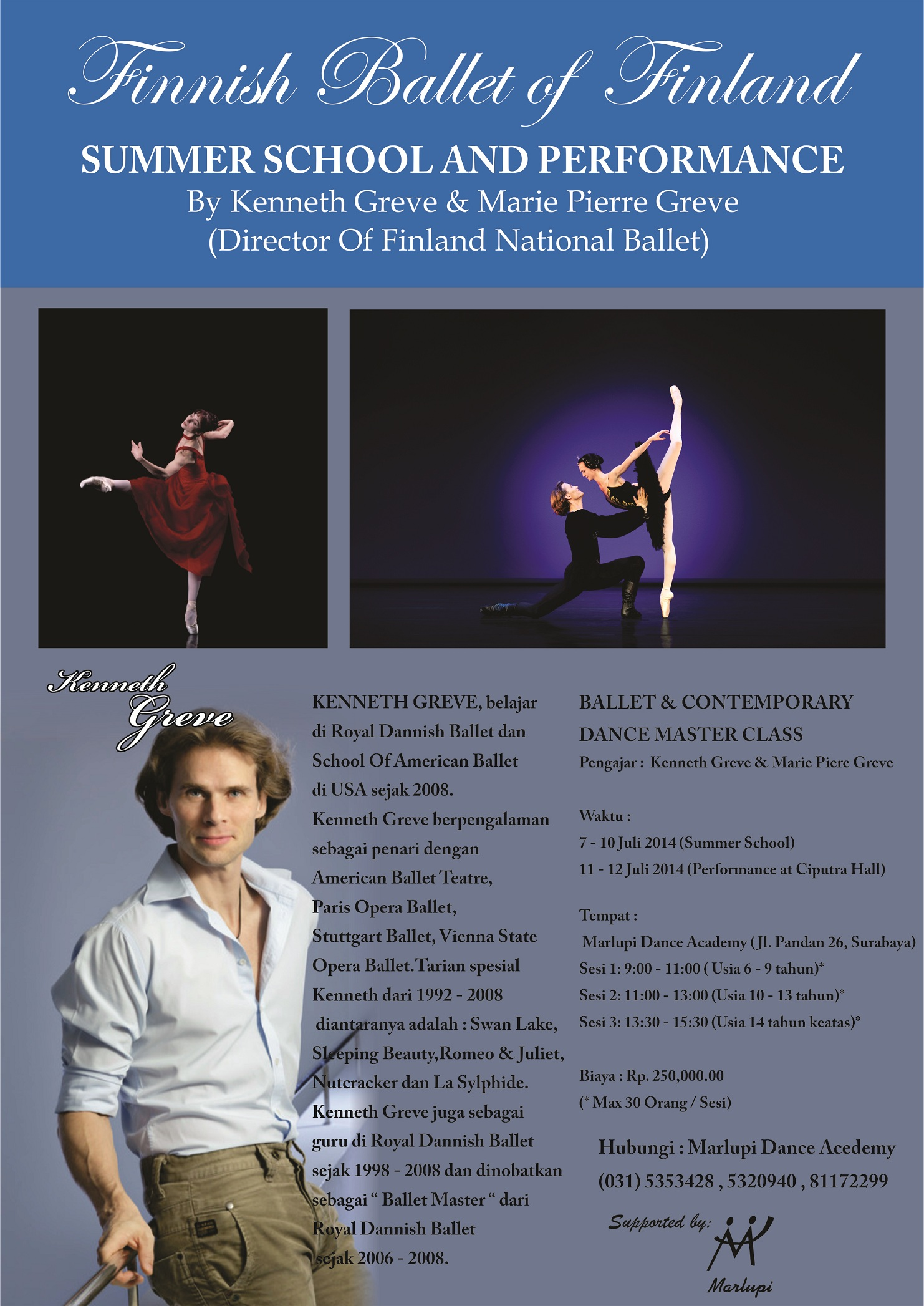 BALLET SUMMER SCHOOL by Kenneth Greeve  from FINLAND NATIONAL BALLET