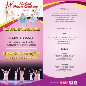 Open for Registration - MDA Jember