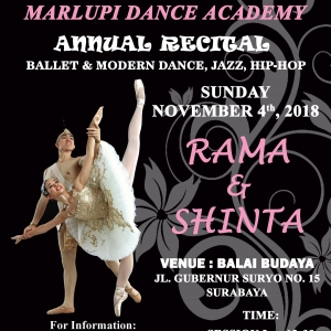 MDA Rama and Shinta in Ballet