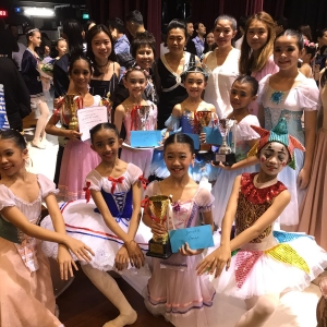 Masterpiece International Ballet Competition 2018 - Winners Marlupi Dance Academy