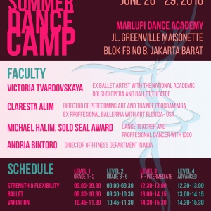 Marlupi Dance Academy Summer Dance Camp 2016